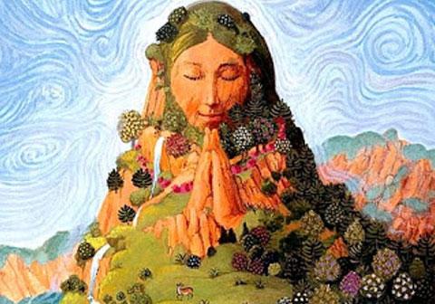 Het Offer en de boodschap van Moeder Aarde